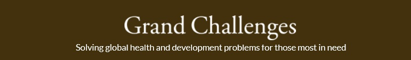 Gates Foundation Grand Challenges