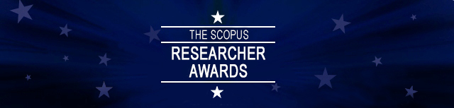 Scopus Researcher of the Year banner