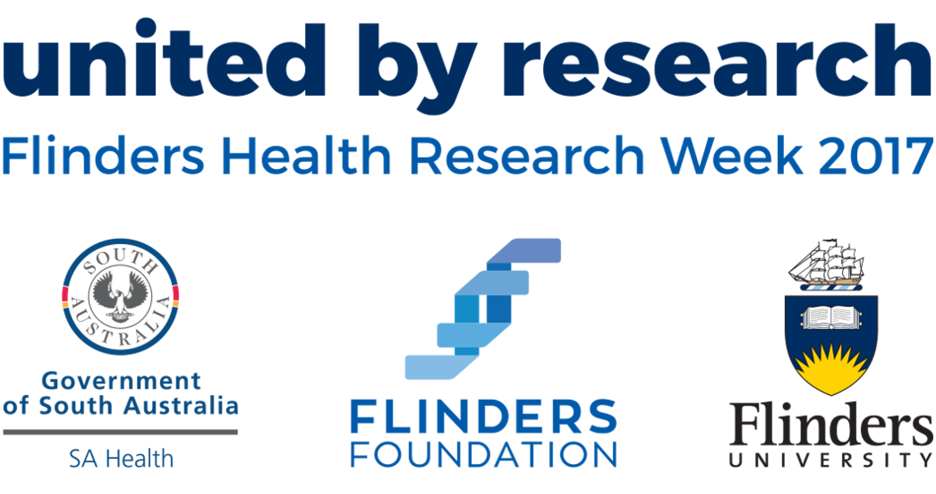 Flinders Health Research Week banner