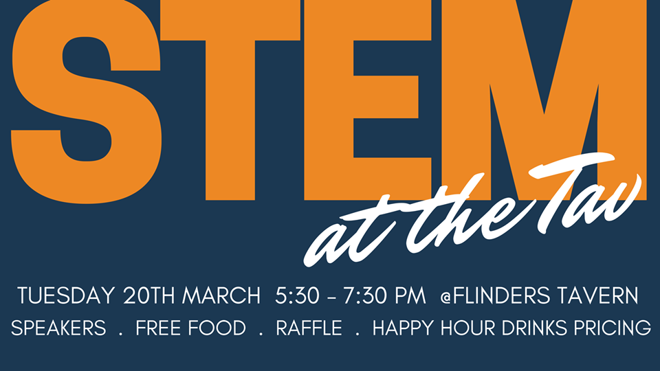 STEM at the Tav banner
