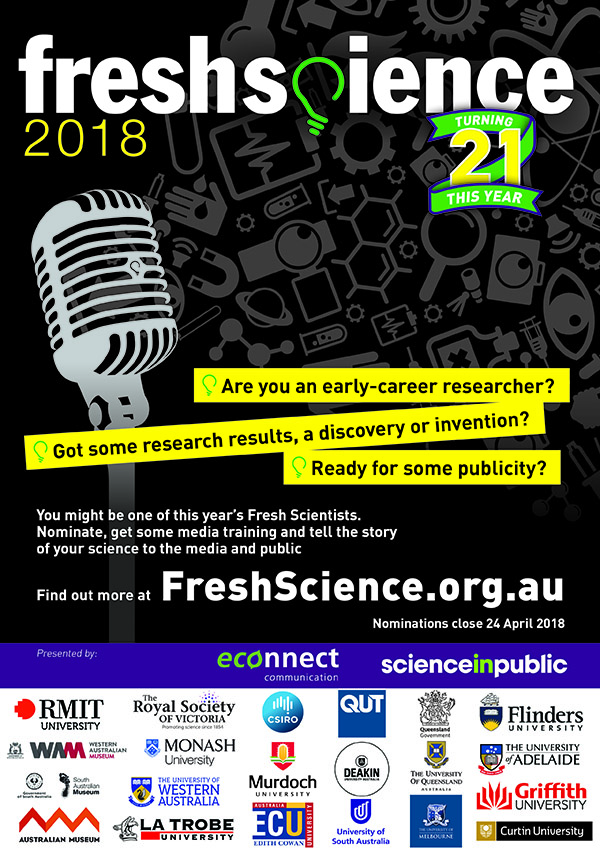 Fresh Science 2018