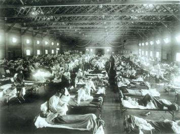 Influenza epidemic 1918
