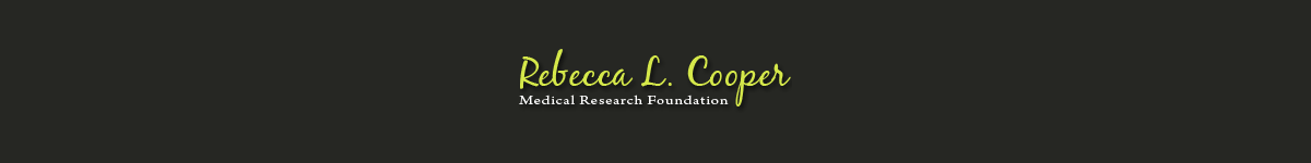 Rebecca L Cooper Medical Research Foundation
