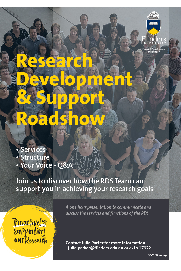 Research Development and Support Roadshow