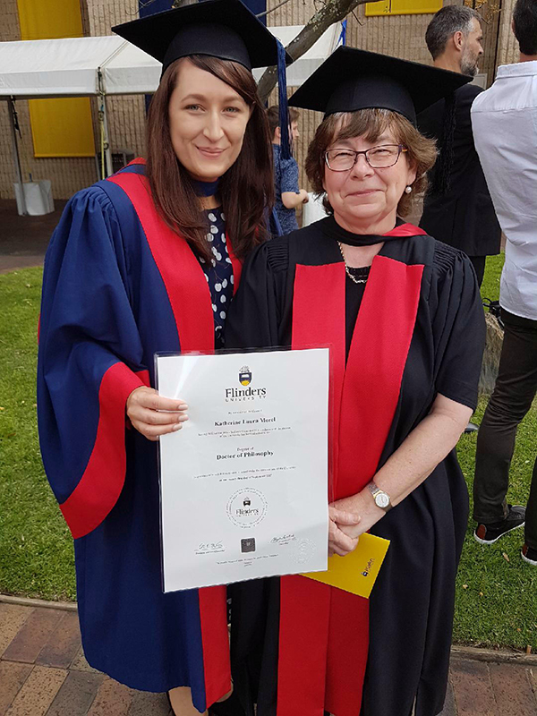 Dr Katherine Morel and Professor Pamela Sykes