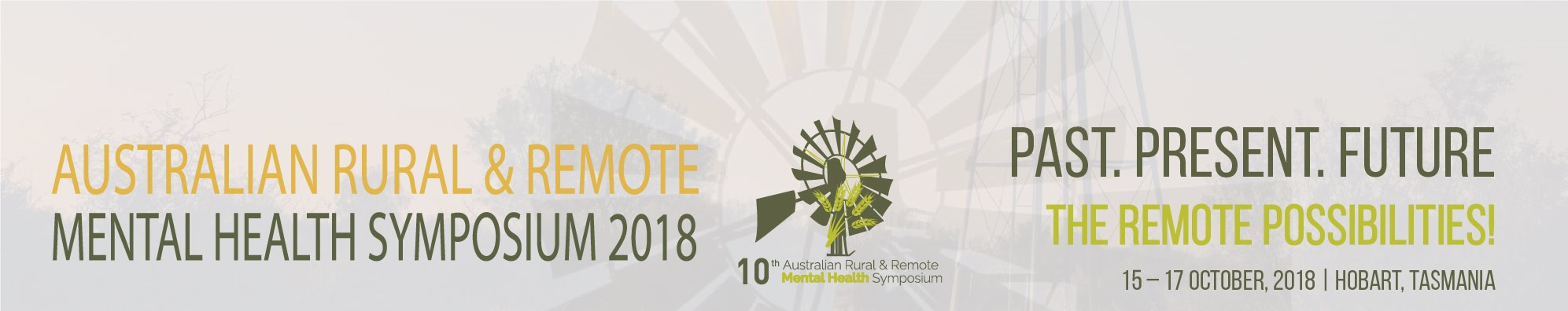 Australian Rural & Remote Mental Health Symposium banner