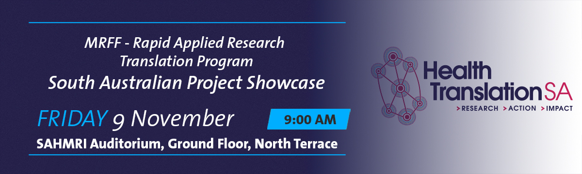 South Australian Project Showcase banner