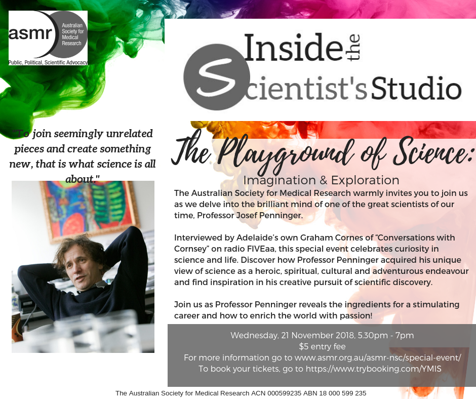 Inside the Scientists Studio banner