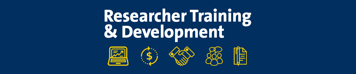 2019 Researcher Training and Development