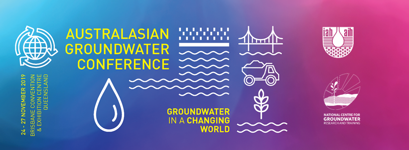 Australasian Groundwater Conference 2019 banner