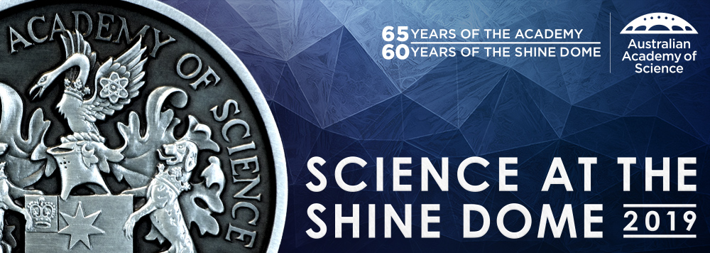 Science at the Shine Dome 2019 banner