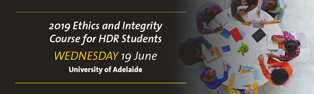 3 Uni Ethics and Integrity for HDR Students event banner