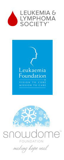 Leukemia and Lymphoma Society, the Snowdome Foundation, and the Leukaemia Foundation