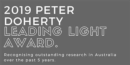 Peter Doherty Leading Light Award 2019
