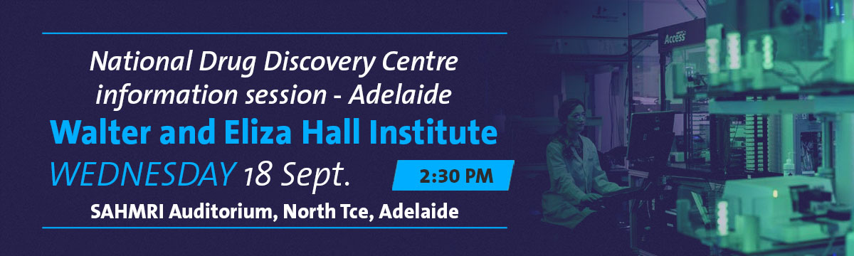 National Drug Discovery Centre event banner