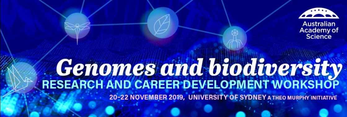 Genomes and Biodiversity workshop banner