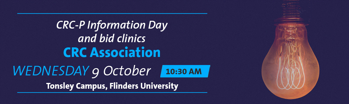 CRC-P Information Day banner