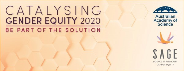 Catalysing Gender Equality 2020 banner