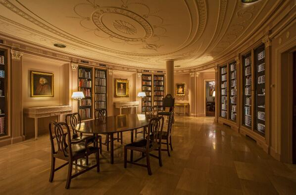 Houghton Library reading room at Harvard