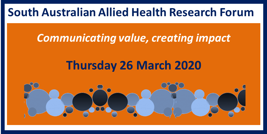SA Allied Health Research Forum