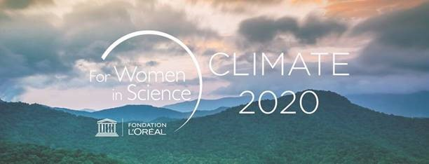 For Women in Science 2020 Climate banner