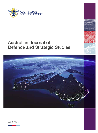 Australian Journal of Defence and Strategic Studies cover