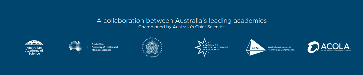 Australian Academy of Science banner - expert panel