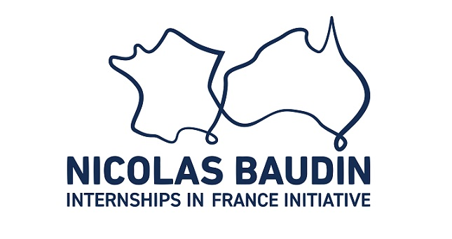 Nicolas Baudin in France logo