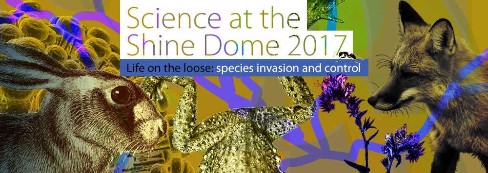 Science at the Shine Dome banner